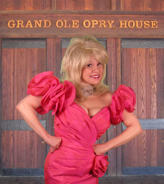 Connie at the Grand Ole Opry