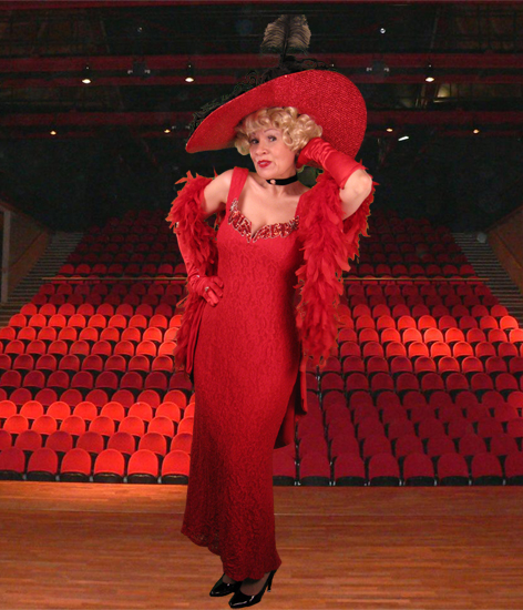 Connie as Mae West
